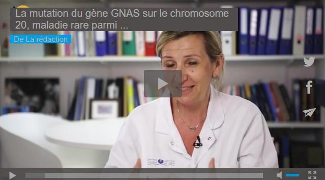 La mutation du gène GNAS sur le chromosome 20, maladie rare parmi les maladies rares