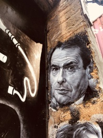 Pierre Bourdieu, painted portrait - © Thierry Ehrmann (Flickr / CC)