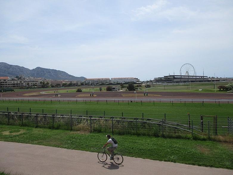 Le golf et l'hippodrome Borély ( Creative Commons)