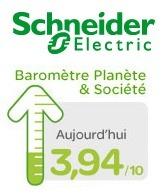 Baromètre Planète & Société – Schneider Electric approfondit sa politique de RSE