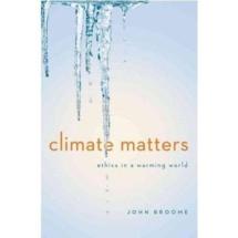 Le changement climatique vu par John Broome : un défi moral