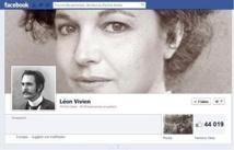 Page Facebook de Léon Vivien - Capture d'écran