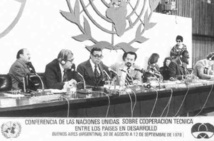 Conférence internationale Sud-Sud de 1978. DR UN