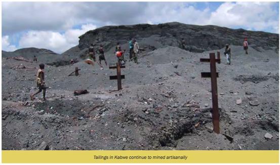 Kabwe Zambie DR Rapport Blacksmith Institute et Green Cross