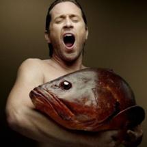 Thomas Dutronc pose nu avec d'autres célébrités pour sensibiliser contre la pêche profonde - DR Denis Rouvre