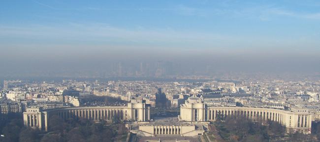 Niveau d'alerte pollution maintenu dans cinq zones