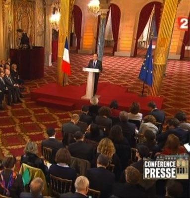 Ce que François Hollande a dit de l'environnement