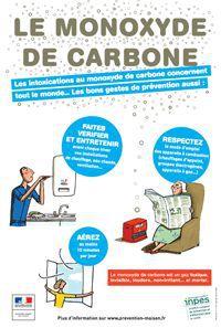 Alerte aux intoxications au monoxyde de carbone