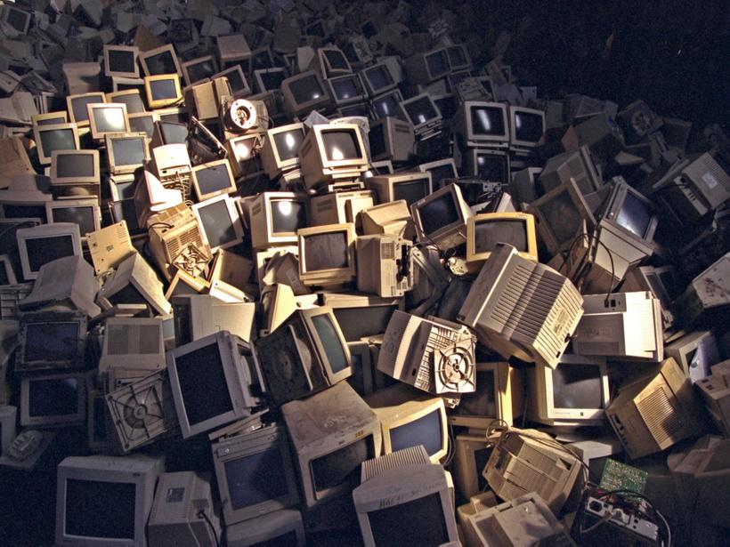 41,8 millions de tonnes de déchets électroniques en 2014