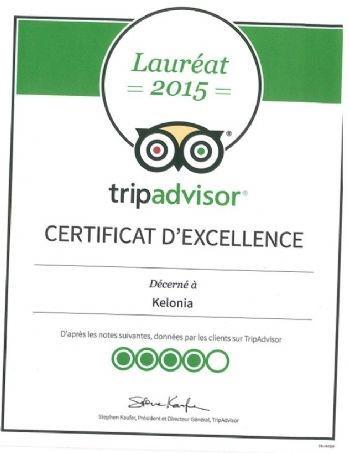 Tripadvisor récompense le centre de sensibilisation à l'environnement Kélonia