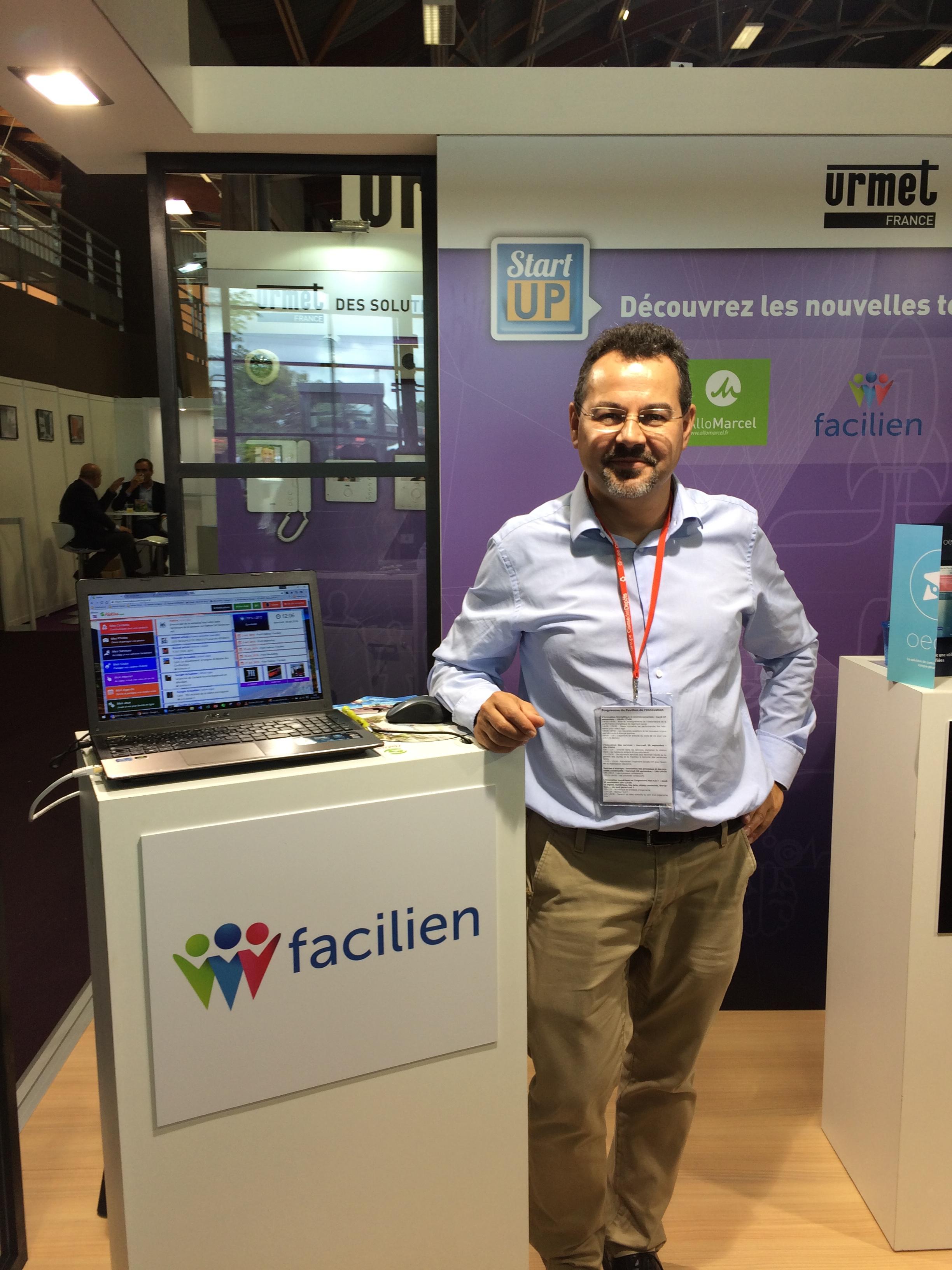 Olivier Audouze, cofondateur de Facilien
