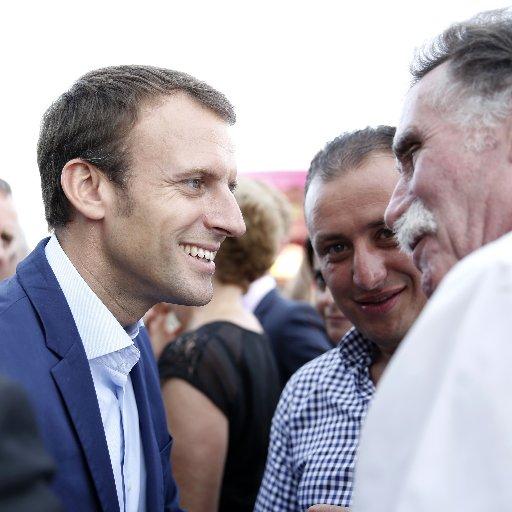 DR compte Twitter Emmanuel Macron