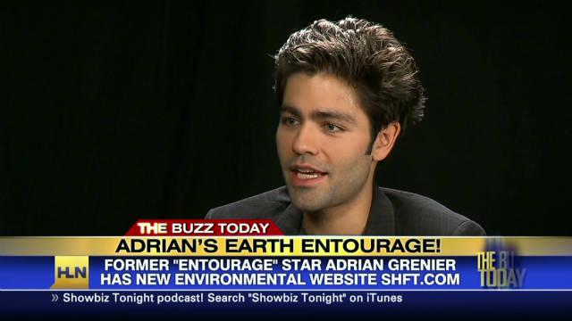 L'acteur Adrian Grenier, ambassadeur de l'ONU pour l'environnement