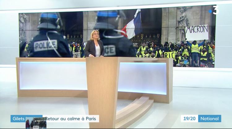 DR Impression d'écran France 3 -- Libération