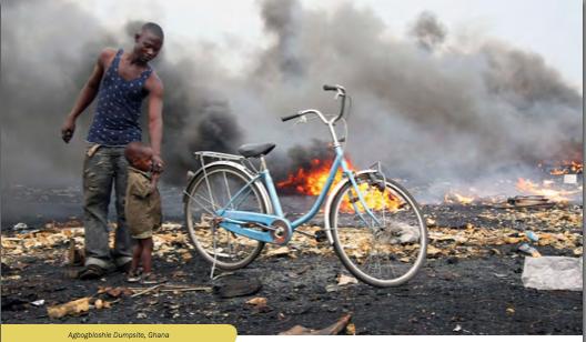 Agbogbloshie Ghana DR Rapport Blacksmith Institute et Green Cross