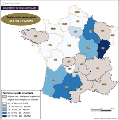 Rapport sur le potentiel hydroélectrique français, quid de l'environnement ?