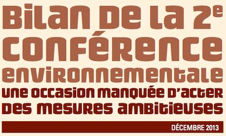 Pour la fondation Nicolas Hulot, la conférence environnementale n'a pas été « à la hauteur des engagements »