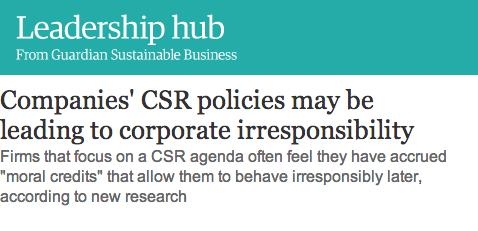 Les discours RSE, vernis des comportements irresponsables ?