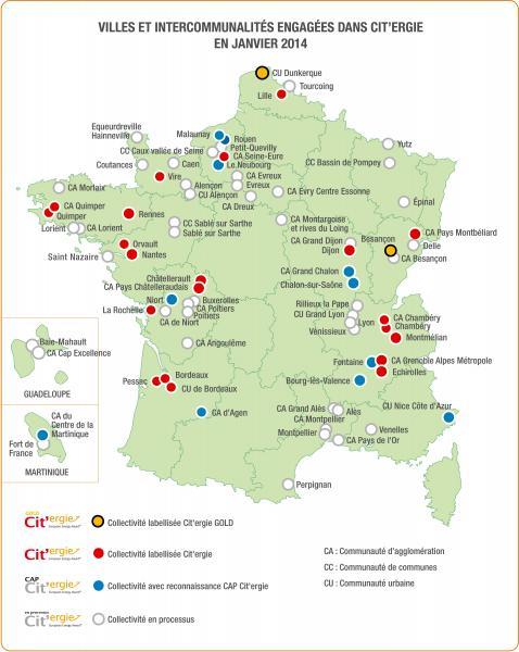 14 collectivités récompensées pour leurs politiques énergie et environnement