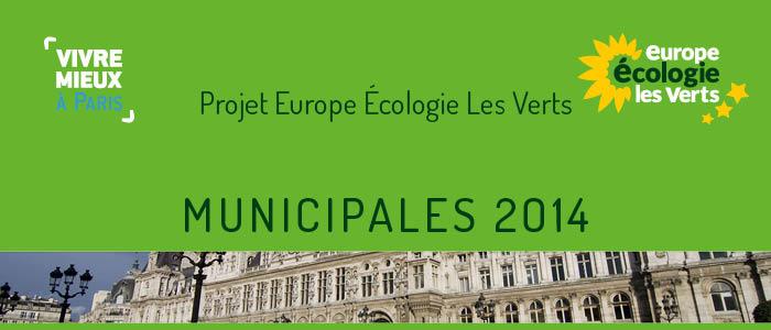 Municipales, pour EELV on ne fait pas d'écologie sans les écologistes
