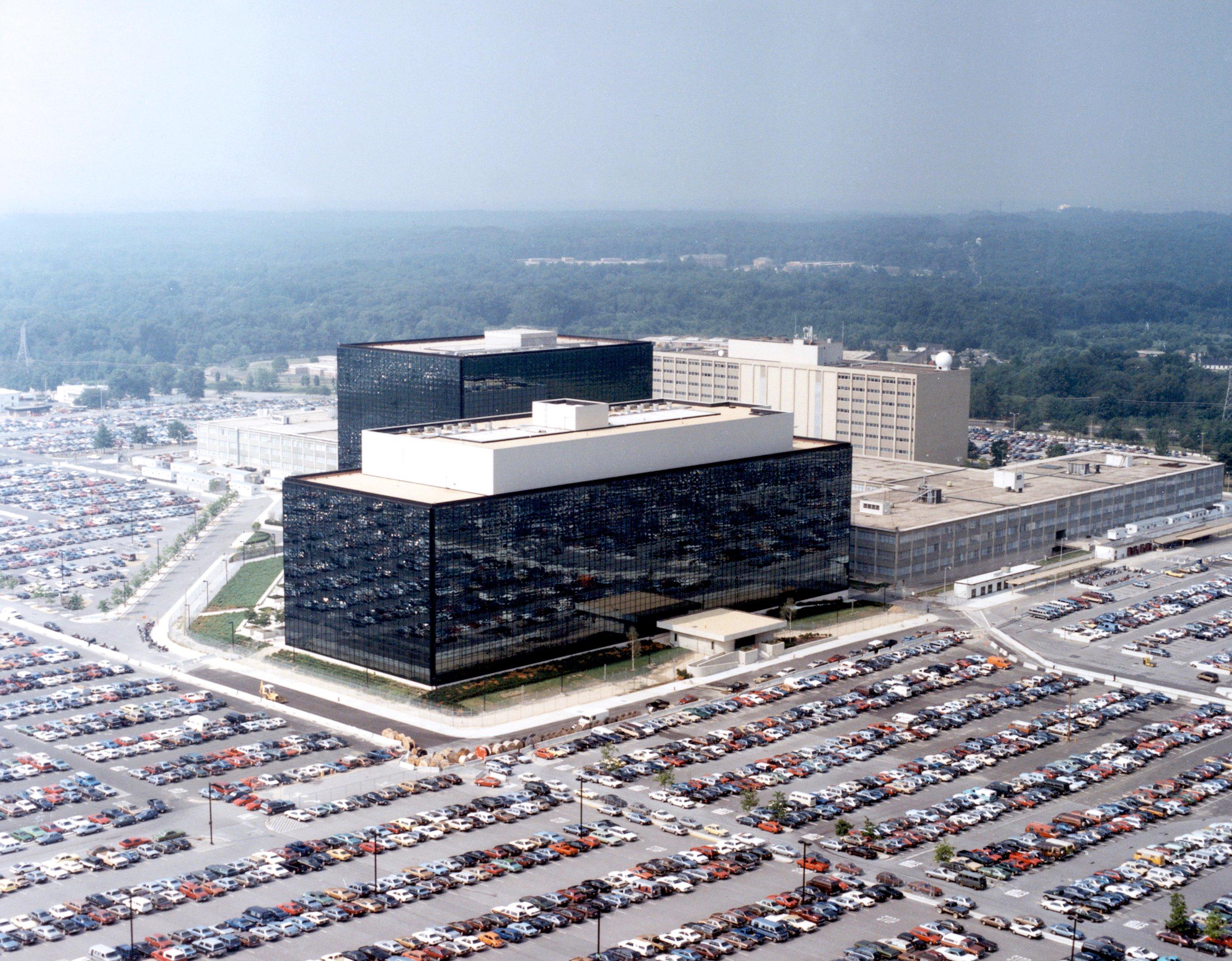 (Wikimedia - Quartier général de la NSA)