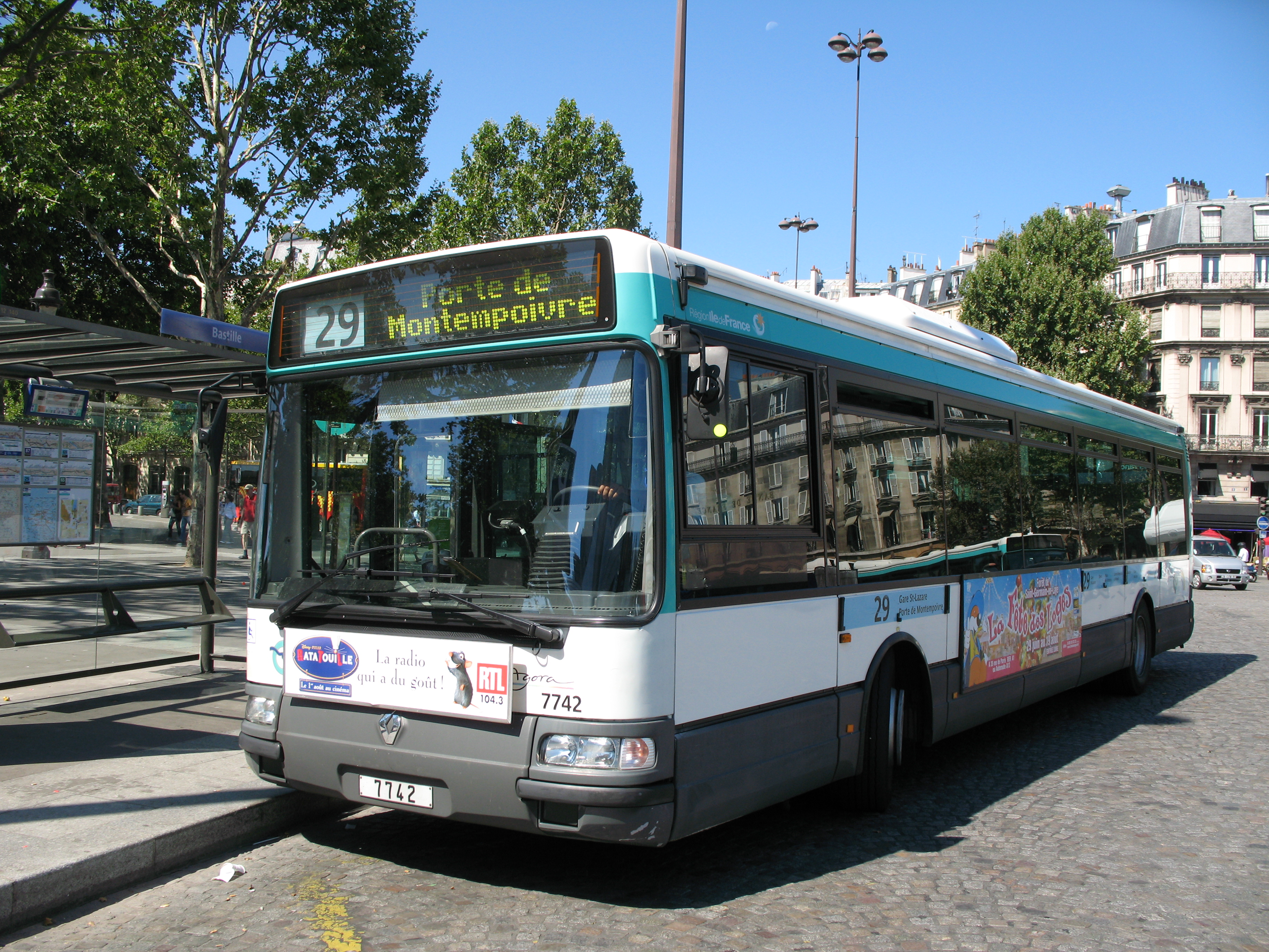 Les bus diesel d'ancienne génération sont condamnés à disparaître à brève échéance (sous licence Creative Commons)