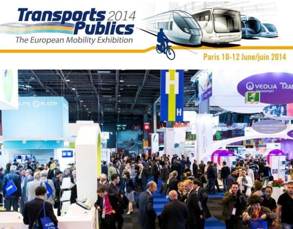 """Salon européen de la mobilité """"Transports publics 2014"""" : la mobilité durable en mouvement"""