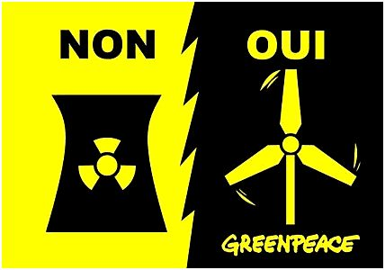 Pour GreenPeace le nucléaire est « périmé »