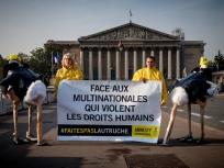 Amnesty veut mettre fin à « l'impunité des entreprises »