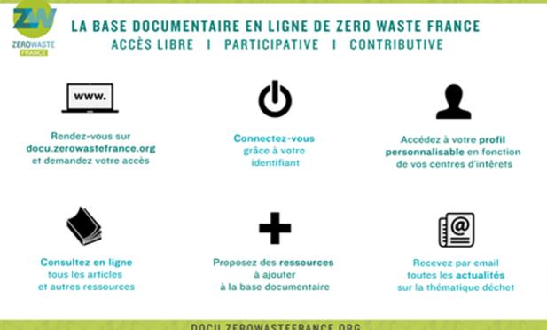 Lancement d'une base documentaire sur les déchets