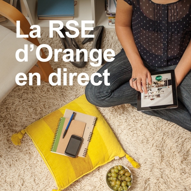 Orange publie un rapport RSE novateur