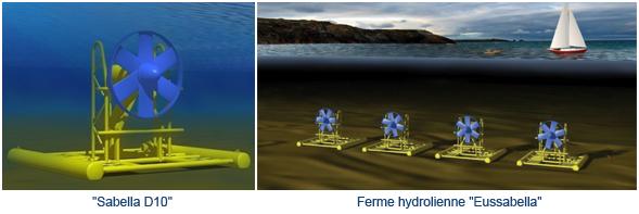 Dans le Finistère, la première hydrolienne française a été immergée avec succès