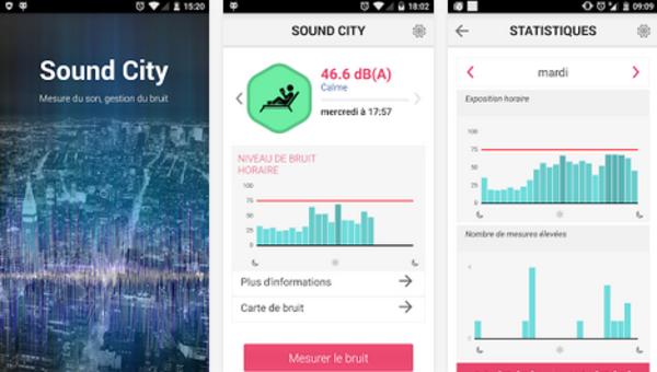 """""""Soundcity"""" : une nouvelle application pour lutter contre la pollution sonore"""