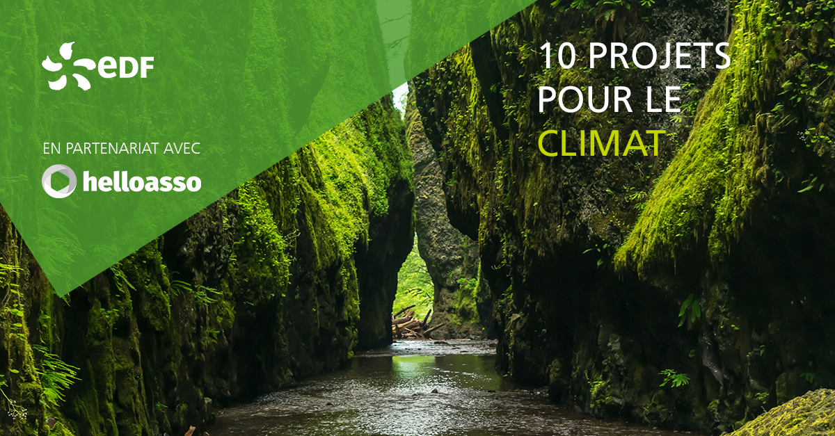 EDF lance le programme participatif « 10 projets pour le climat »
