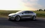 Tesla s'attaque au grand public avec son nouveau modèle