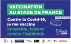 Au Stade de France : le centre de vaccination vise les 10 000 injections par semaine