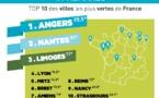 Angers, Nantes et Limoges sont les villes les plus vertes de France