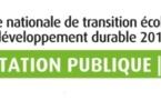 Transition écologique, la consultation publique est lancée