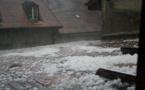 Grêle, importants dégâts matériels et quelques blessés