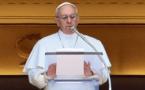 Le Pape François invite à s'engager en faveur de l'environnement et de la nature