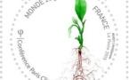 Le timbre officiel de la Conférence de Paris sur le climat dévoilé