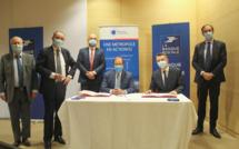 La Banque Postale - La Métropole du Grand Paris - Signature convention partenariat